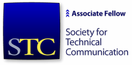 "STC logotype with mention, ""Associate Fellow"""